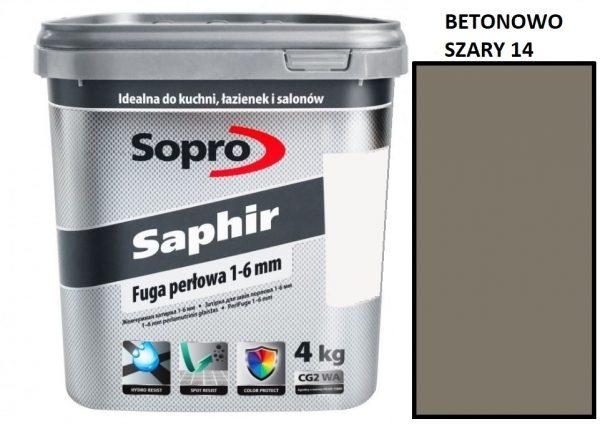Ceramic.md Sopro Saphire Betonowo Szary 14 4kg
