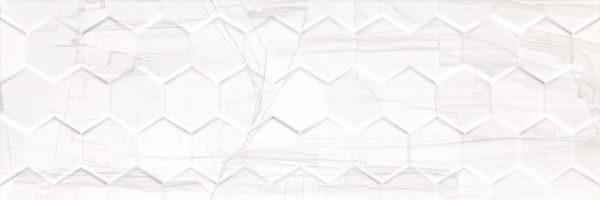 Brennero White Hexagon