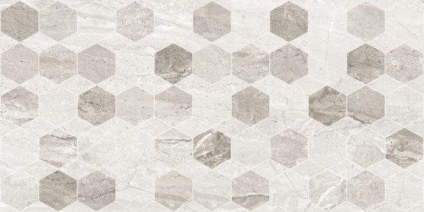 Marmo Milano Light Grey Hexagon