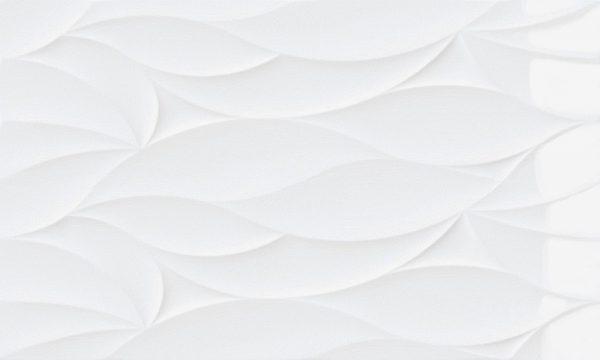 Blanco Ondas Brillo
